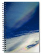 Sky 1 Abstract Spiral Notebook