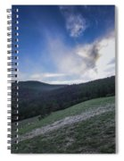 Sky And Mountains Spiral Notebook