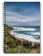 Sky Blue Coast Spiral Notebook