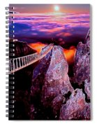 Sky Bridge Spiral Notebook