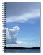 Sky Calm Spiral Notebook