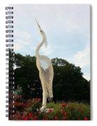 Sky Crane Spiral Notebook