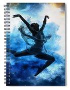 Sky Dancer 1 Spiral Notebook