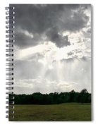 Sky Divided  Spiral Notebook