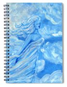 Sky Goddess Spiral Notebook