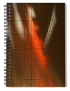 Sky Light Painting Spiral Notebook