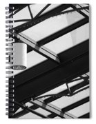 Sky Lights Spiral Notebook