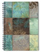 Sky Patches I Spiral Notebook