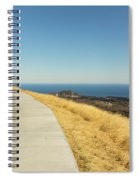 Sky Road Spiral Notebook