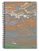 Sky The Color Of Trees Spiral Notebook
