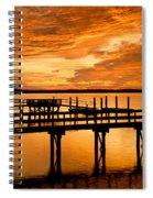 Sky Turmoil Spiral Notebook