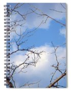 Look At The Blue Sky Spiral Notebook