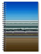 Sky Water Earth Spiral Notebook