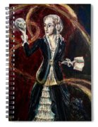 Skye The Necromancer Spiral Notebook