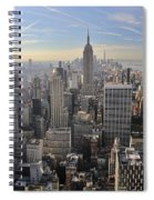 Skyline New York City  Spiral Notebook