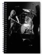 Skynyrd Sf 1975 #10 Crop 2 Enhanced In Bw Spiral Notebook