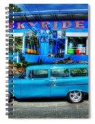 Skyride Spiral Notebook