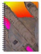 Skyriders Spiral Notebook