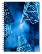 Skyscraper In Hong Kong Spiral Notebook
