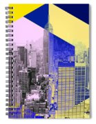 Skyscrapers Spiral Notebook