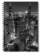 Skyscrapers Of Chicago Spiral Notebook