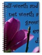 Skyward Affirmation Spiral Notebook