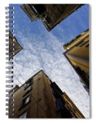 Skyward In Naples Italy - Spanish Quarters Take Three Spiral Notebook