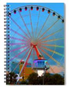 Skywheel Spiral Notebook
