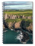 Slains Castle Spiral Notebook