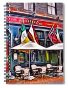 Slainte Irish Pub And Restaurant Spiral Notebook