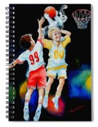 Slam Dunkin Dog Spiral Notebook