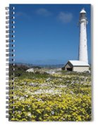 Slangkop Lighthouse, Kommetjie  Spiral Notebook