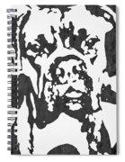Slate Grey Boxer Spiral Notebook