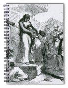 Slave Auction Spiral Notebook