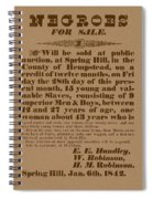 Slave Auction Spiral Notebook