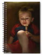 Sleep Off To Wonderland Spiral Notebook