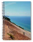 Sleeping Bear Dune Climb Spiral Notebook