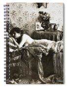 Sleeping Beauty, C1900 Spiral Notebook
