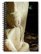 Sleeping Buddah  Spiral Notebook