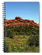 Sleeping Giant At The Garden Of The Gods Spiral Notebook