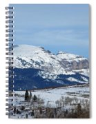 Sleeping Indian Mountain Spiral Notebook