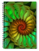 Sleeping Spring Spiral Notebook
