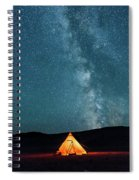 Sleeping Under The Stars Spiral Notebook