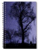 Sleepless Night Spiral Notebook