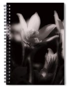 Sleepy Flowers Spiral Notebook