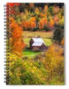 Sleepy Hollow Farm In Fall Spiral Notebook