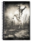 Sleepy Hollow Headless Horseman Spiral Notebook