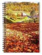 Sleepy Hollow - Pomfret Vermont-1 Spiral Notebook