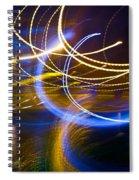 Sleepy Lights Spiral Notebook