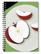 Sliced Apple Spiral Notebook